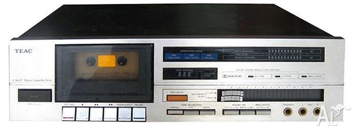 Vintage Teac V-330 Cassette Deck