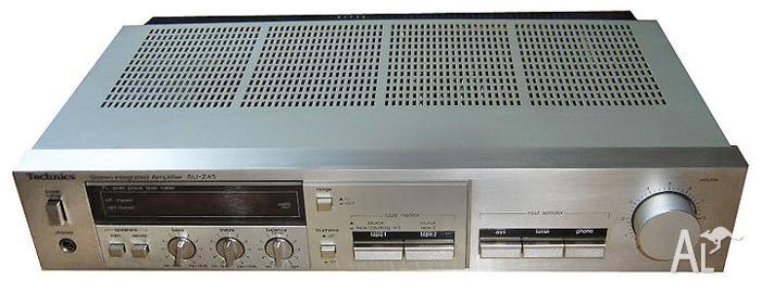 Vintage Technics SU-Z45 Stereo Amplifier