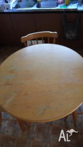Dining Table Round Dining Table Timber