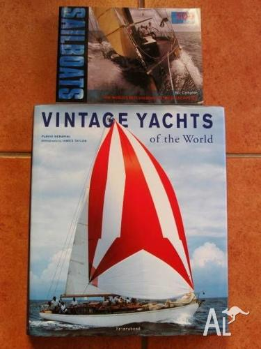 Vintage Yachts Of The World + Sailboats [Price is for