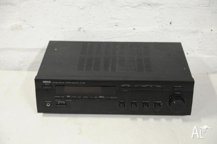 vintage yamaha rx 485 stereo amplifier receiver high. Black Bedroom Furniture Sets. Home Design Ideas