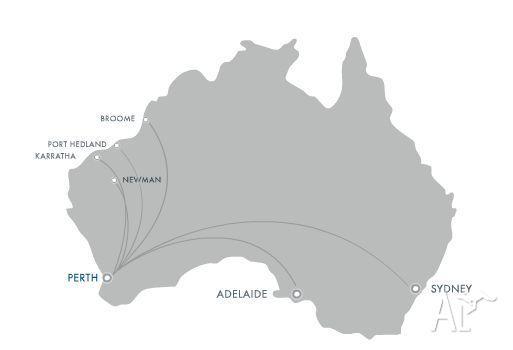 Virgin Australia domestic return flight (Perth)