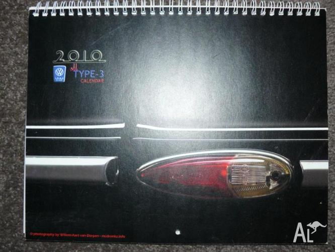 VW 1500 Calenders very limited and perfect condition