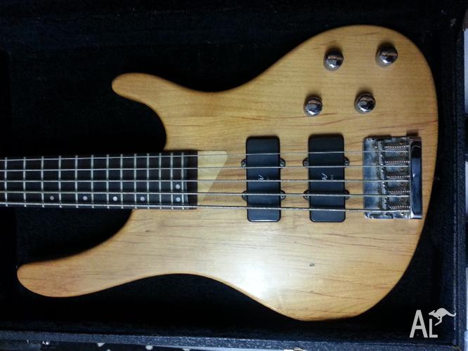 washburn xb500 5 string bass bargain for sale in bunya queensland classified. Black Bedroom Furniture Sets. Home Design Ideas