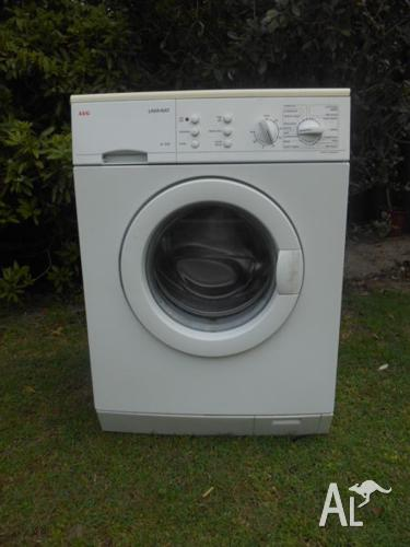 WASHING MACHINE - AEG FRONT LOADER