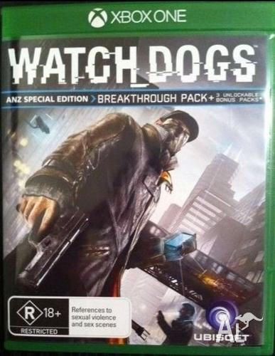 Watch Dogs ANZ Edition (Codes Unused) (Xbox One)