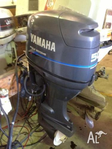 We have a good Yamaha 2002 50hp 4 Stroke Outboard Motor For