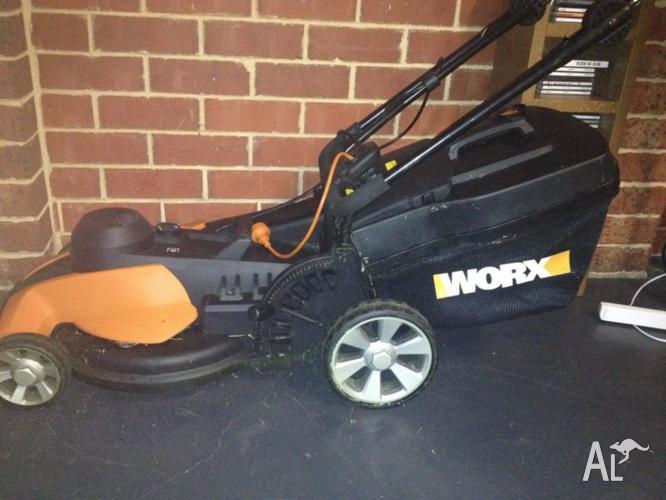 WG708E Lawn mover