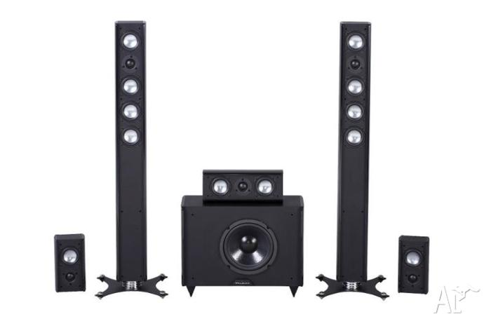 wharfedale achromatic micro system speakers subwoofer rrp 1099 for sale in sutherland new. Black Bedroom Furniture Sets. Home Design Ideas