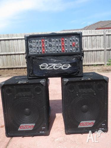 wharfedale ezgo epm 620 pa system for sale in aberfeldie victoria classified. Black Bedroom Furniture Sets. Home Design Ideas
