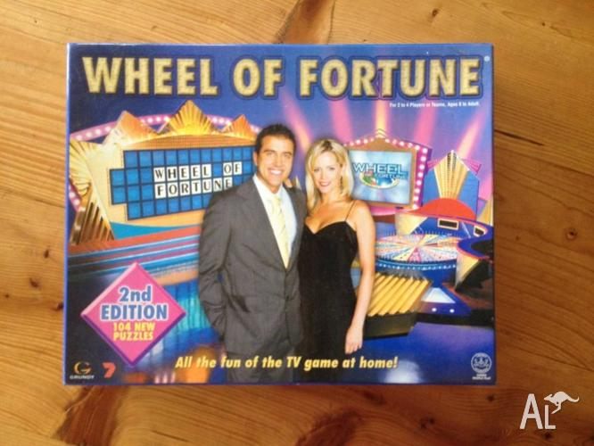 Wheel of Fortune Board Game for Sale in BONG BONG, New ...