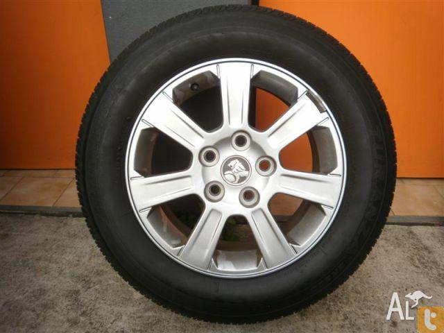 WHEELS & TYRES HOLDEN COMMODORE VE 16INCH GENUINE ALLOY for