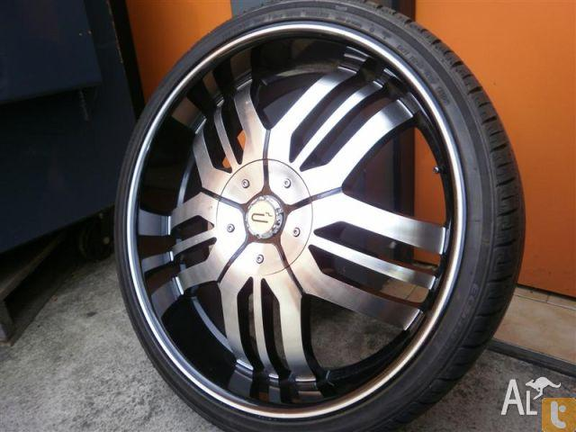 wheels tyres player evulve 24 inch alloy wheels for sale. Black Bedroom Furniture Sets. Home Design Ideas