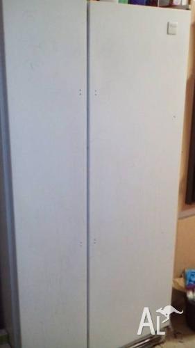 Whirlpool side by side fridge 588l