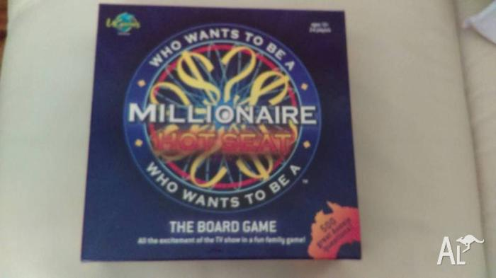 Who Wants to be a Millionaire Hot Seat Board Game