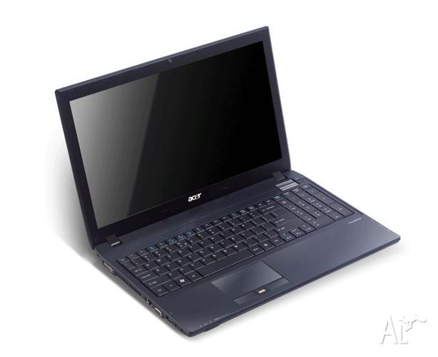 WIDESCREEN ACER TRAVELMATE 4GB i5 ONLY $449!