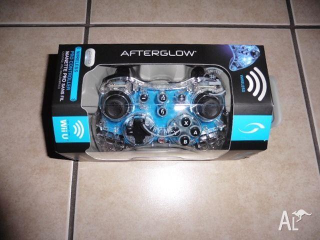 wii u wireless afterglow pro controller