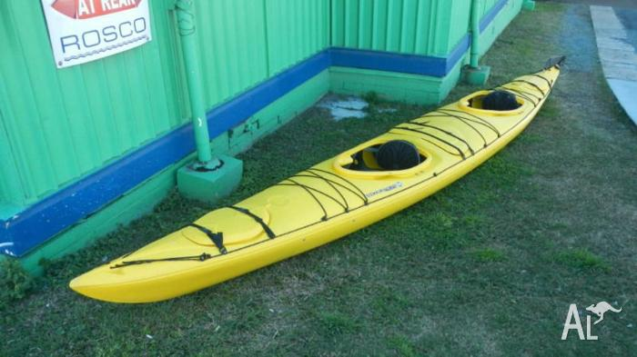 Wilderness Systems Northstar kayak with rudder