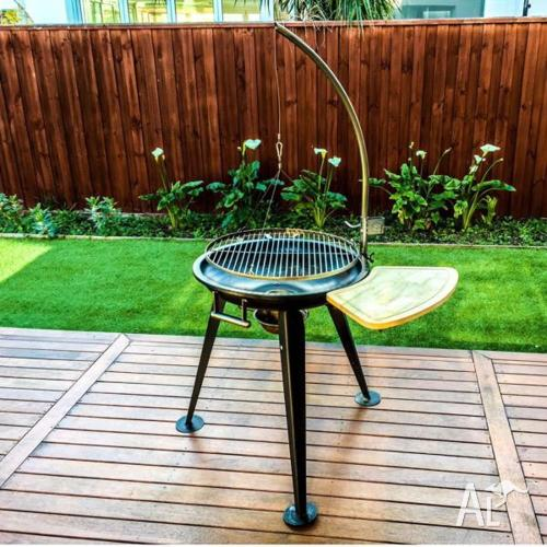 WillBBQ Free-standing Hanging Charcoal BBQ,Special