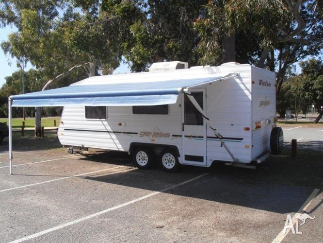 Windsor Genesis 658S 22ft 2007 Caravan