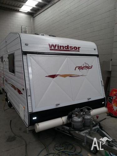 Windsor Rapid Rac592s Premium Expandable Caravan For Sale