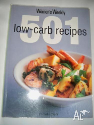 Women`s Weekly 501 low-carb recipes