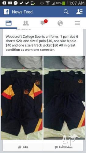 Woodcroft College School Uniform - Various Good