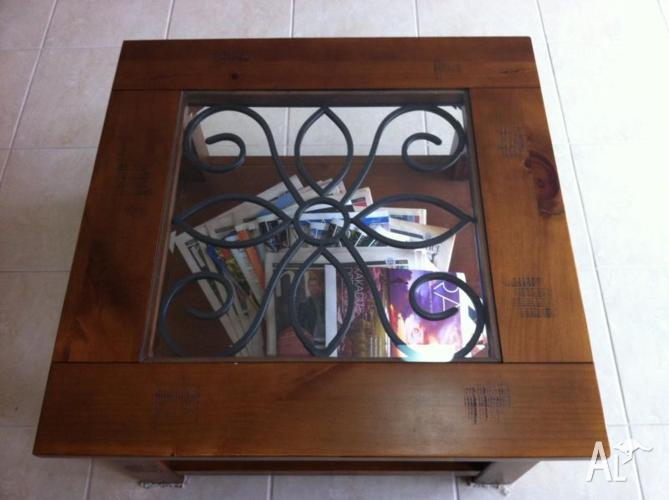 Wooden Lamp Table, Centre Table, Coffee Table