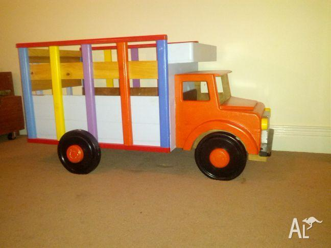 wooden toy box   truck for sale in brookfield  queensland classified