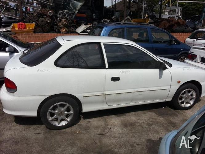 wrecking hyundai excel 1999 for sale in chippendale new south wales