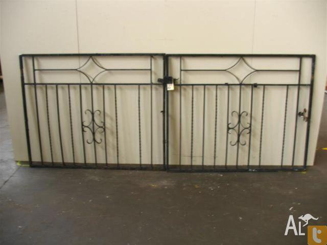 Wrought Iron Front Driveway Gates