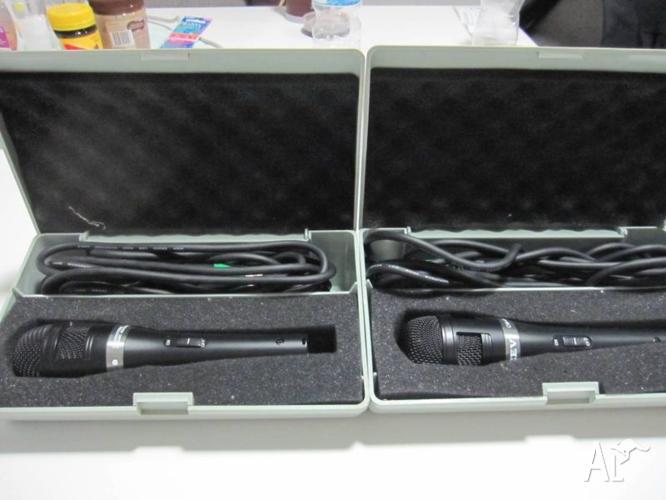 x2 Dynamic Microphones $50 each