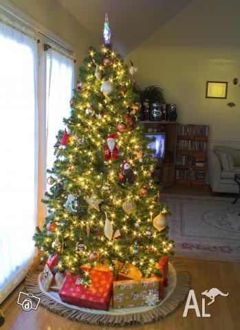 XMAS1.8m 180cm 6ft FIBRE OPTIC CHRISTMAS TREE - XMAS1.8m 180cm 6ft FIBRE OPTIC CHRISTMAS TREE For Sale In INNALOO