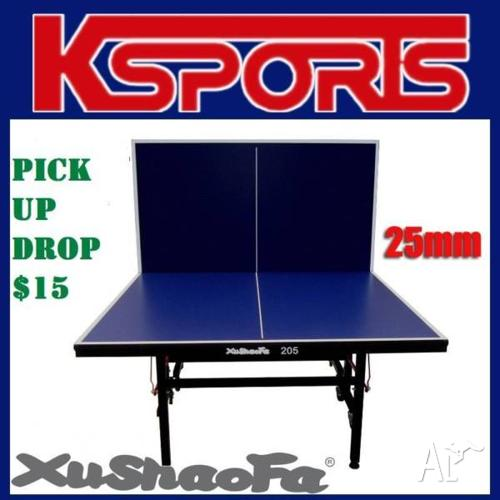 Xu Shao Fa 25mm Table Tennis Ping Pong Table -
