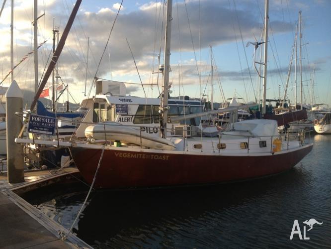 Yacht kencock 38 foot Ferro ketch for Sale in AEROGLEN
