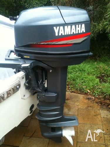 Yamaha 25 h p 2 stroke 25bmh long shaft for sale in for Best prop for 25 hp yamaha 2 stroke