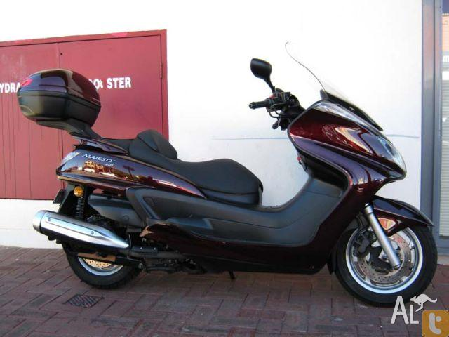Yamaha 400cc majesty yp400 2006 for sale in victoria for Yamaha majesty 400 for sale near me