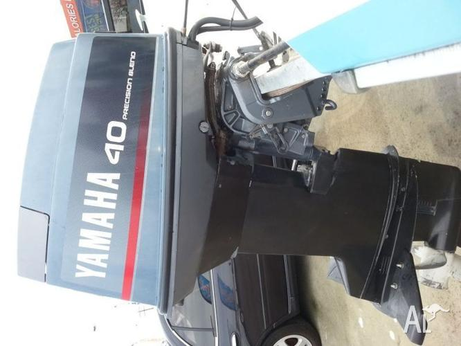 Yamaha 40 hp precision blend outboard for sale in epping for 40 hp yamaha for sale