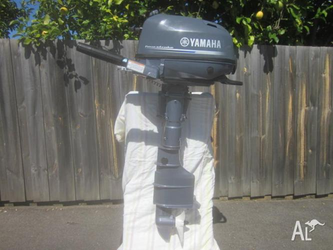 Yamaha 4hp four stroke long shaft F4BMHL