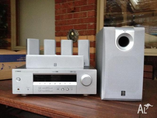 Yamaha 5 1 surround sound system for sale in fountain gate for Yamaha surround system review