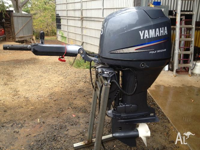 Yamaha  Hp Outboard Weight