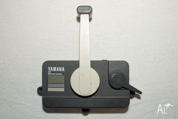 Yamaha 701 new oem push manual remote control box assembly for Yamaha 703 remote control assembly