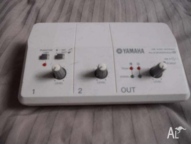 yamaha audiogram 3 usb recording interface for sale in annandale new south wales classified. Black Bedroom Furniture Sets. Home Design Ideas