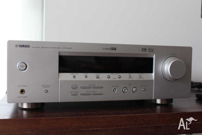 Yamaha HTR-5830 5.1 Receiver + Speakers