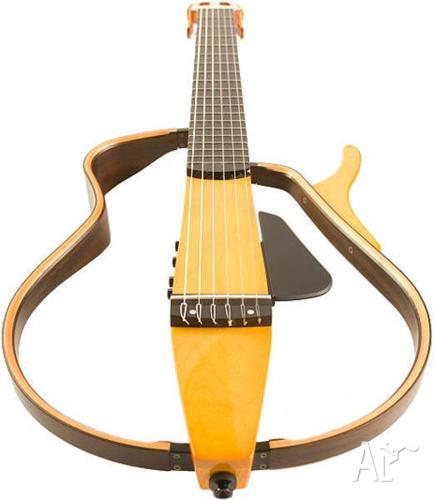 yamaha nylon silent guitar slg 120w with soft case 500