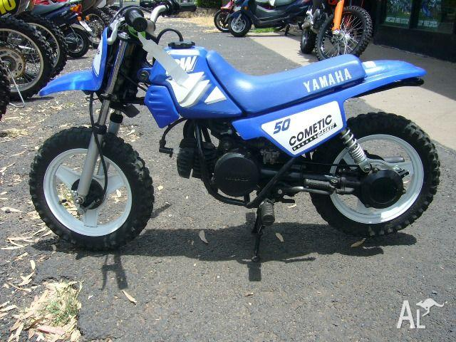 YAMAHA PW50 (PEE-WEE) 50CC N 2001 for Sale in DALBY