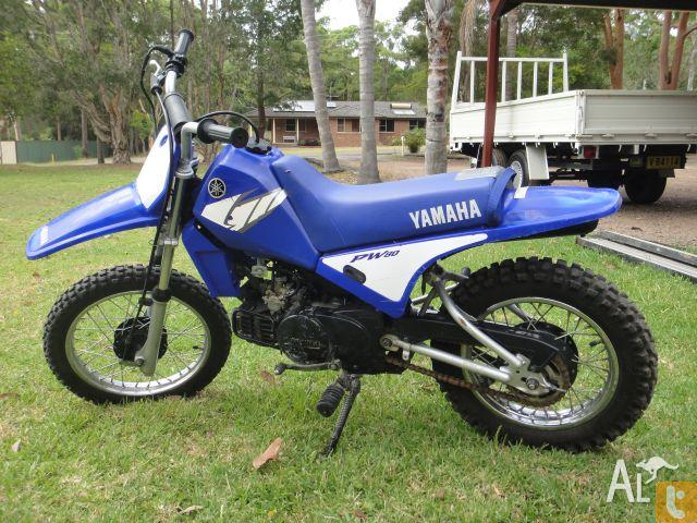 yamaha pw80 pee wee n 2004 for sale in medowie new south wales classified. Black Bedroom Furniture Sets. Home Design Ideas