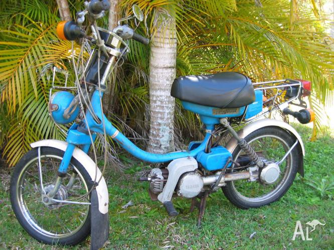 YAMAHA QT50 MOPED / YAMAHOPPER SCOOTER 50cc 1981 for Sale in BORONIA