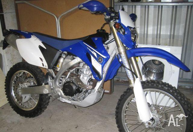 YAMAHA WR250F 08  2008