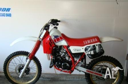 YAMAHA YZ125 YZ125 1985 for Sale in CAPALABA, Queensland
